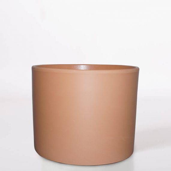Vaso in Ceramica color terracotta H17 D 20